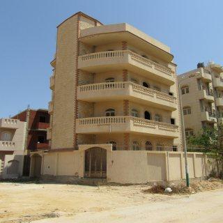 عمارة للبيع برج العرب الجديدة 295م2 ناصية