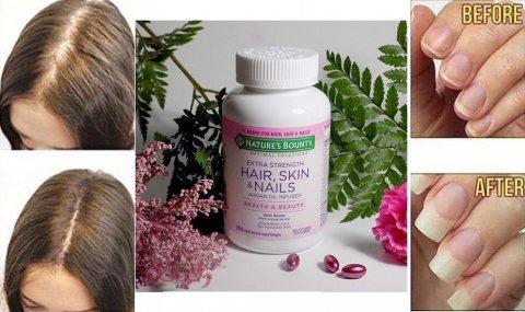هير سكين اند نيلز للحفاظ على شعر وظوافر صحيه 01283360296