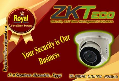 الان أحدث  كاميرات مراقبة داخلية  ماركة ZKTECO