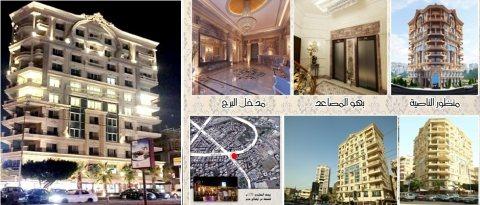 للشركات والمراكز الكبرى شقة للإيجار بموقع متميز بمصر الجديدة