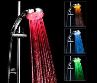 الدش المضىء ديكور مبتكر لأخذ حمام مريح للأعصاب 01283360296