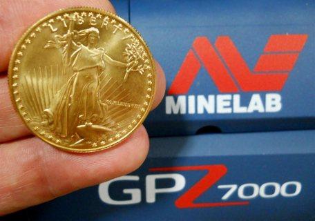 جهاز GPZ 7000 كاشف المعادن والذهب الخام يصل حتى 5 متر تحت سطح الارض.