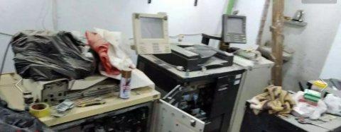 مكينتين ريكو 2090 بيضه و IBM سوده