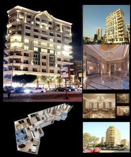 للشركات والمراكز الكبرى شقة للايجار بارقى مواقع مصر الجديدة بالقرب من تيفولى