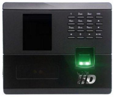 جهاز حضور وانصراف شامل قارئ بصمة ماركة IID الاسبانية