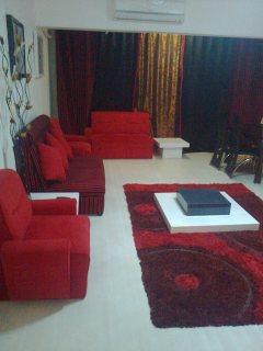 شقة مفروشة للايجار 3غرفة نوم 2ريسبشن 1حمام