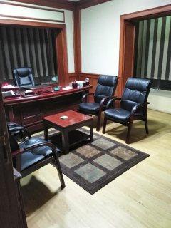 للإيجار شقة إدارى ناصية رئيسية بالمشاية العلوية 150 م