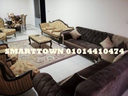 شقة مفروشة للايجار تطل على طريق النصر و ميدان الساعة مباشرة مدينة نصر