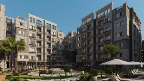 شقة للبيع 135 متر في مدينة هليوبوليس الجديدة في كومبوند لافيدا