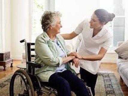 لدينا ممرضات كبار والجليسه ومرافق خاص لكبارالسن ورعايه منزليه