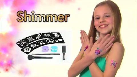 يمكنك صنع تاتو لنفسك بالالوان التى تريدها مع تاتو شيمر01283360296