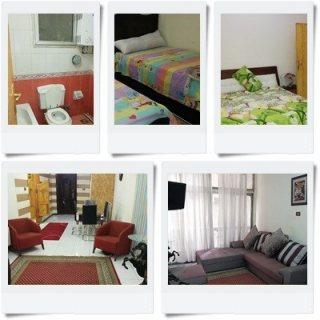 للايجار شقة مفروشة على طريق النصر بين #عباس_العقاد و #مكرم_عبيد مدينة نصر