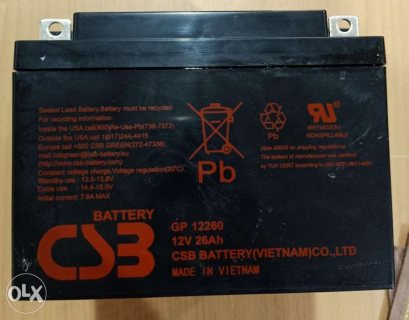 Battery for ups 01100120290