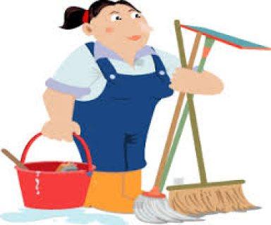 مطلوب للعمل فورا عاملات نظافة مقيمات ومربيات للاطفال وراعيات للمسنين