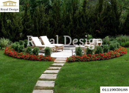 تصاميم حدائق فلل _01119959188