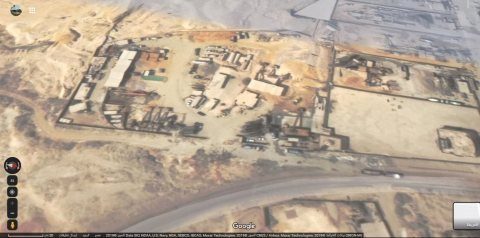 ارض صناعى + 2 محطة خرسانة كاملة للبيع بموقع متميز بالتجمع الثالث