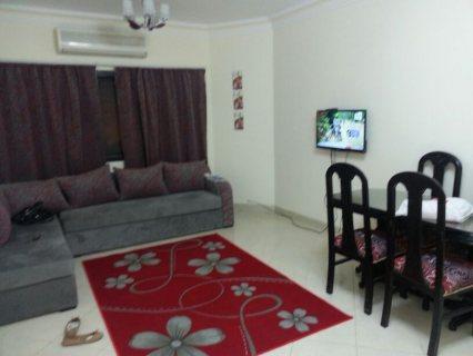 شقة مفروشة للايجار بكمبوند رامو بمدينة 6 اكتوبر الحي المتميز