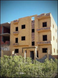 عمارة للبيع برج العرب الجديدة امام المدرسة المصرية اليابانية