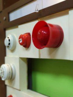 انذار ضد الحريق هوتشيكي معنون ضمان الوكيل