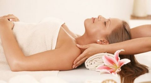 Full body massage at home