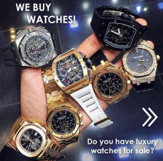 مهتم بشراء الساعات السويسري الجديده و المستعمله