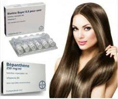 حقن البيوتين لتقويه الشعر من الجدور