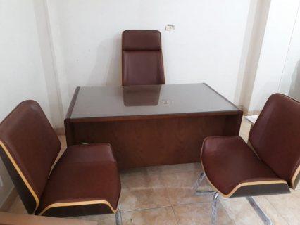 مكتب خشب طبيعي