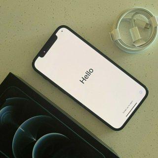 Apple iPhone 12 Pro - سعة 128 جيجابايت - أزرق داكن (مفتوح)