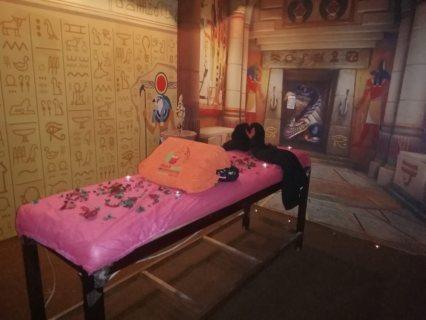 المساج رياضة أصلها فرعونية ..غرفة حورس .. الألوان هي مصدر الطاقة الإيجابية
